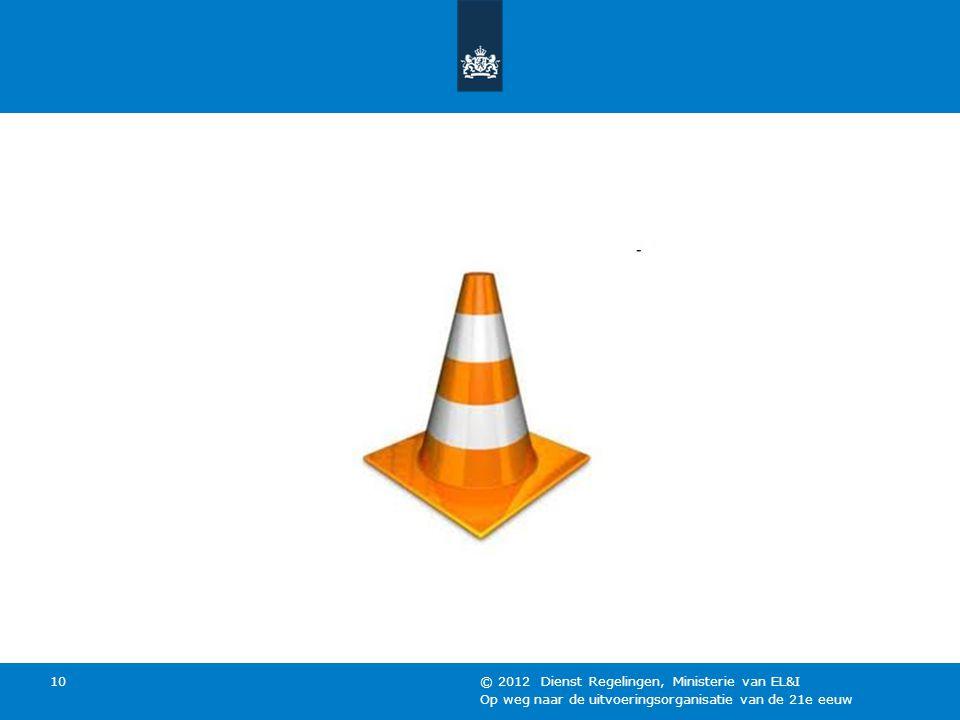 © 2012 Dienst Regelingen, Ministerie van EL&I
