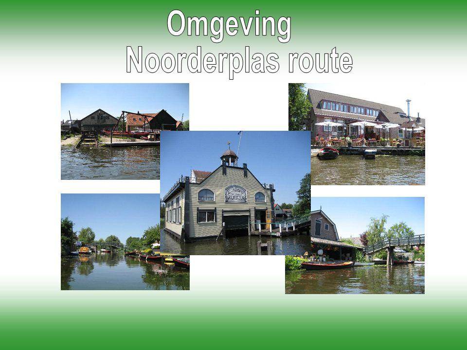 Omgeving Noorderplas route