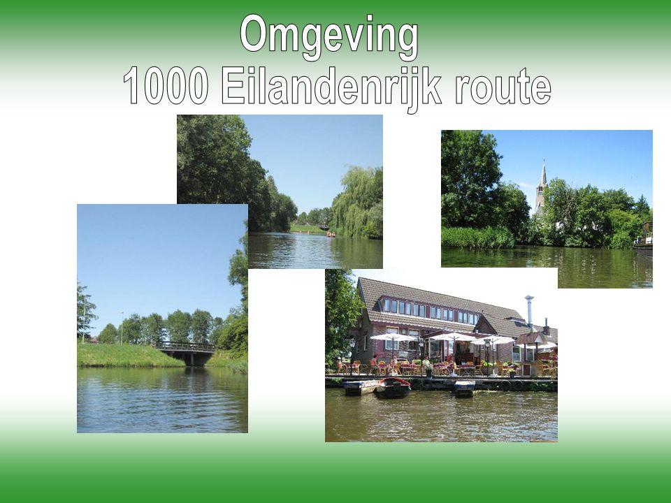 Omgeving 1000 Eilandenrijk route