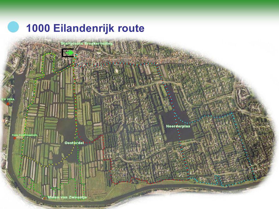 1000 Eilandenrijk route