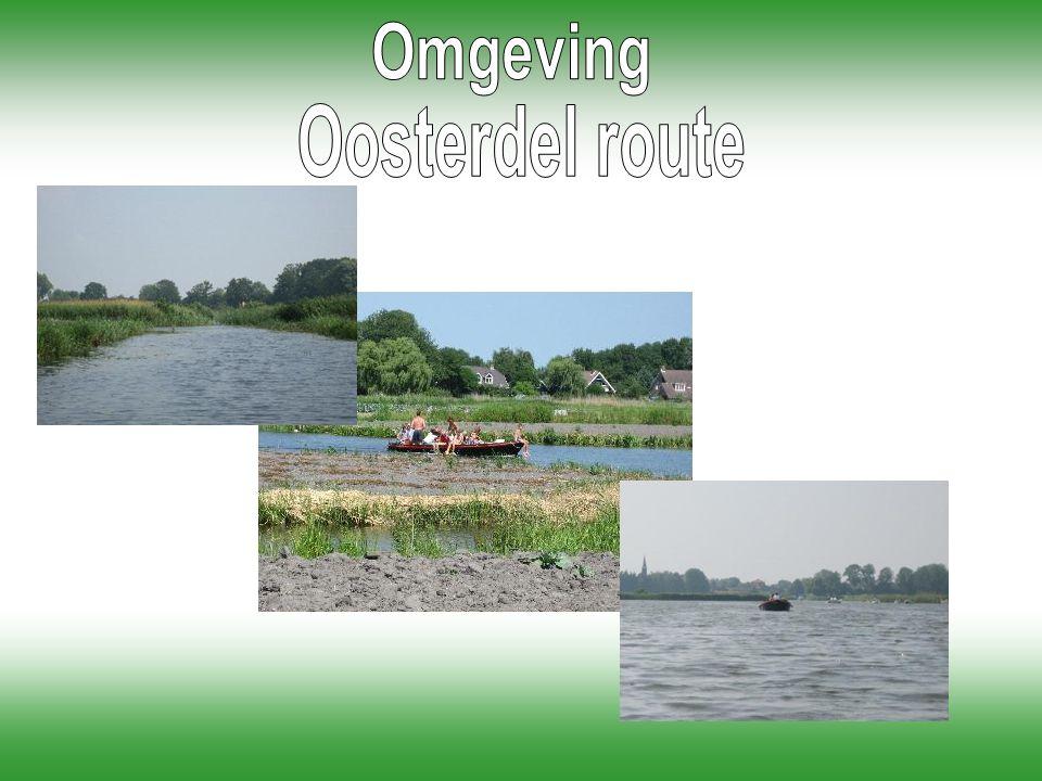 Omgeving Oosterdel route