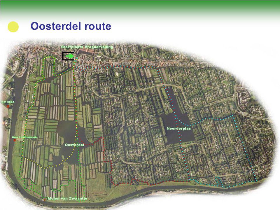 Oosterdel route