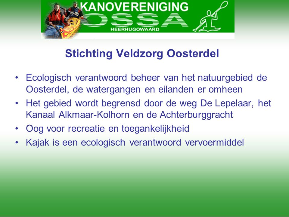 Stichting Veldzorg Oosterdel