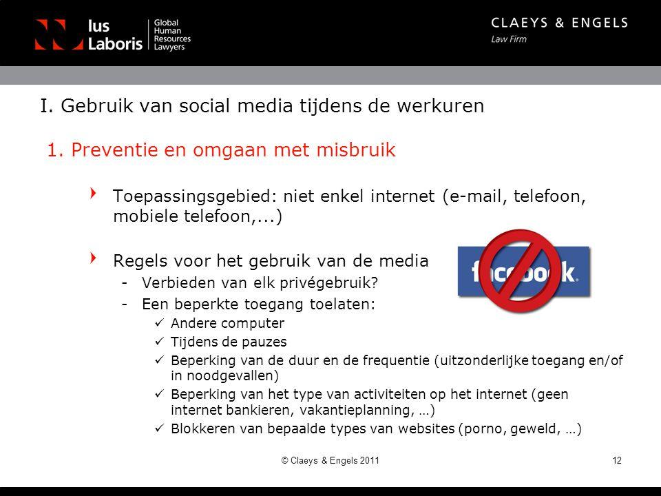Regels voor het gebruik van de media