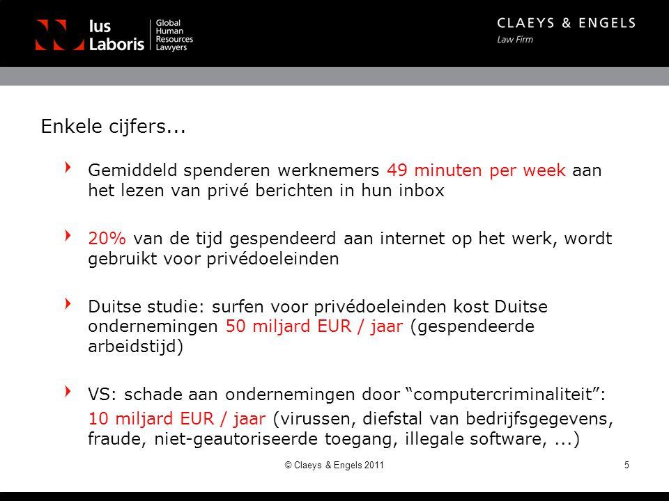 Enkele cijfers... Gemiddeld spenderen werknemers 49 minuten per week aan het lezen van privé berichten in hun inbox.