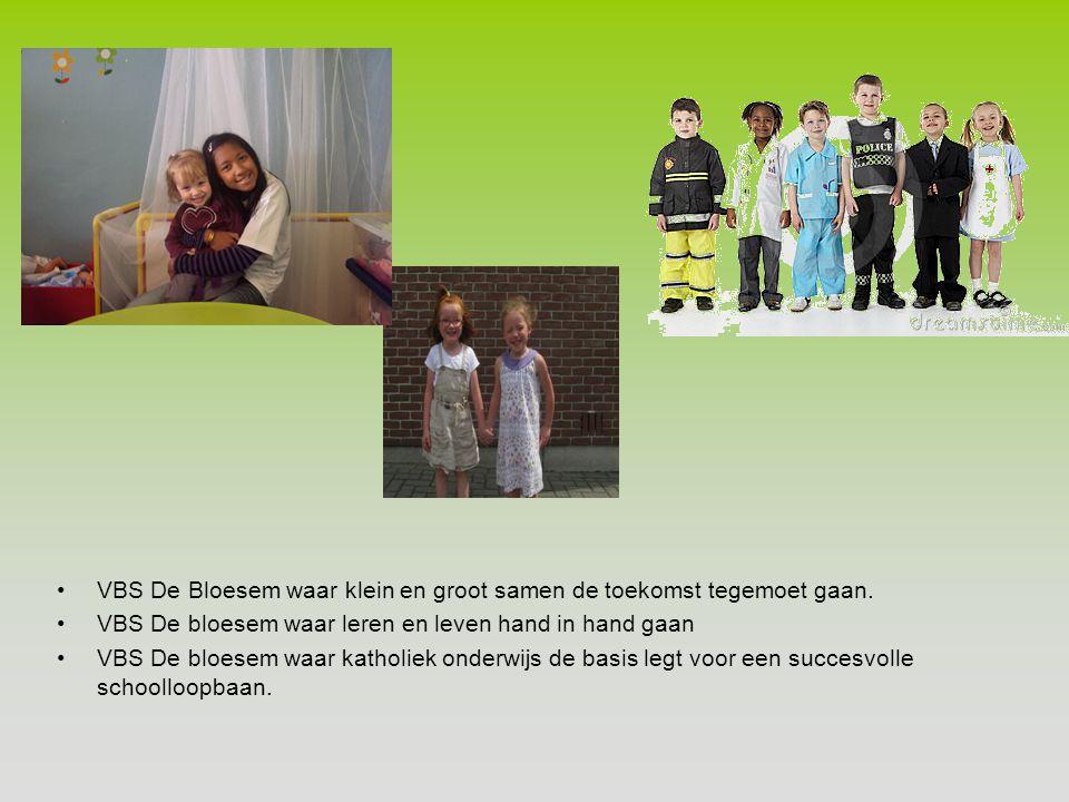 VBS De Bloesem waar klein en groot samen de toekomst tegemoet gaan.