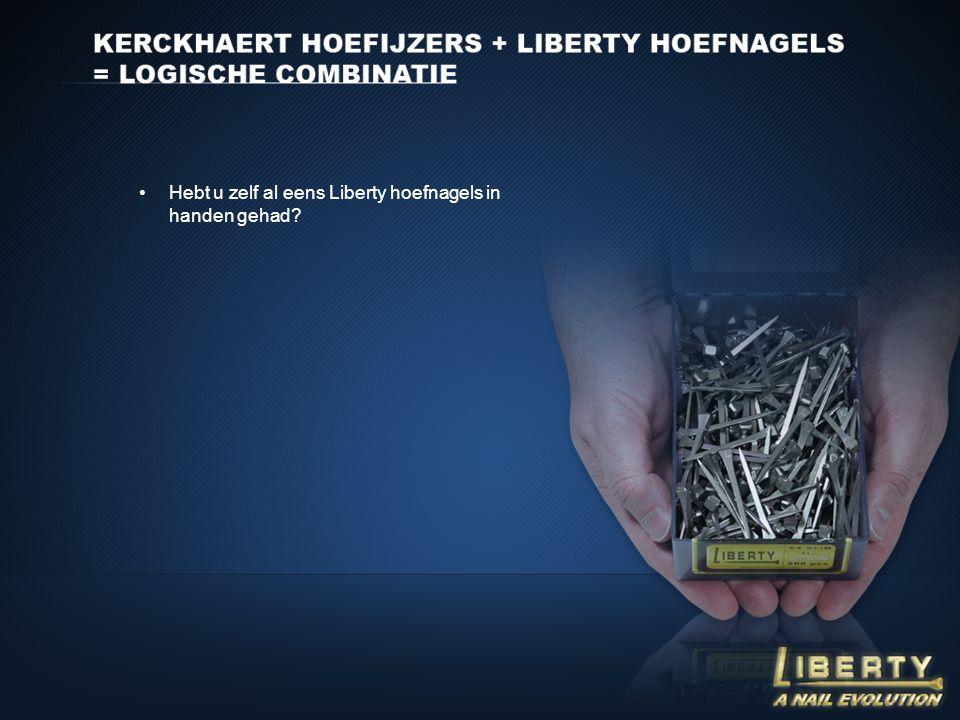 Hebt u zelf al eens Liberty hoefnagels in handen gehad