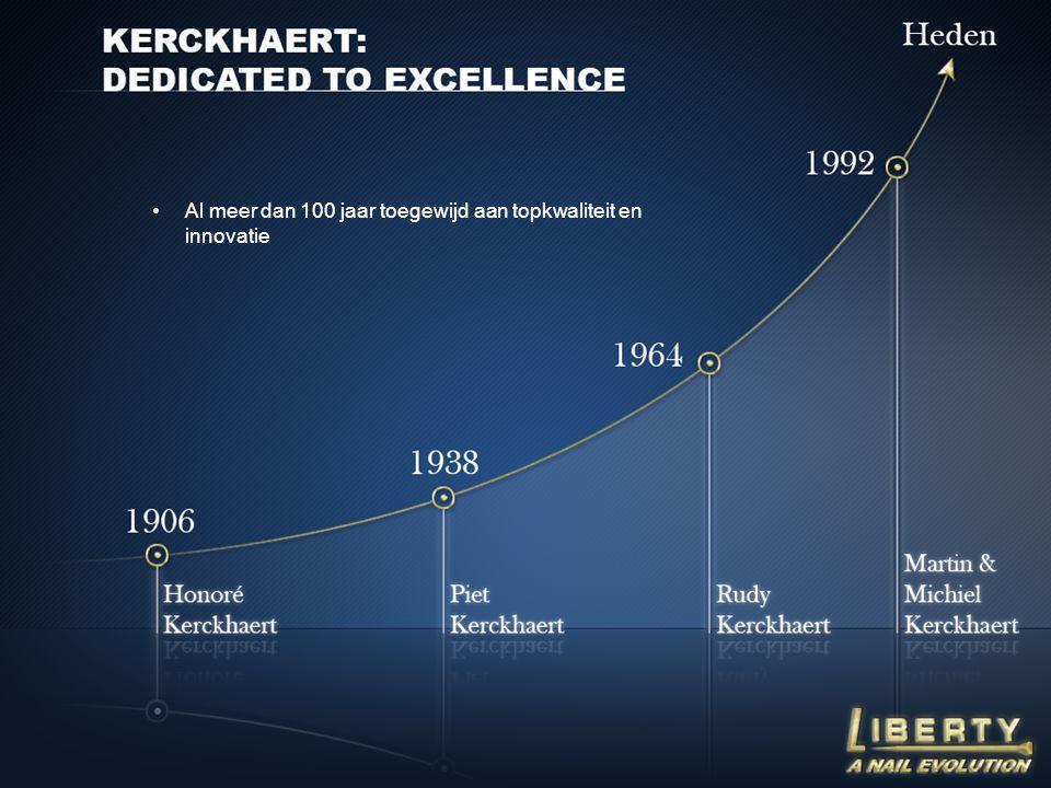 Al meer dan 100 jaar toegewijd aan topkwaliteit en innovatie