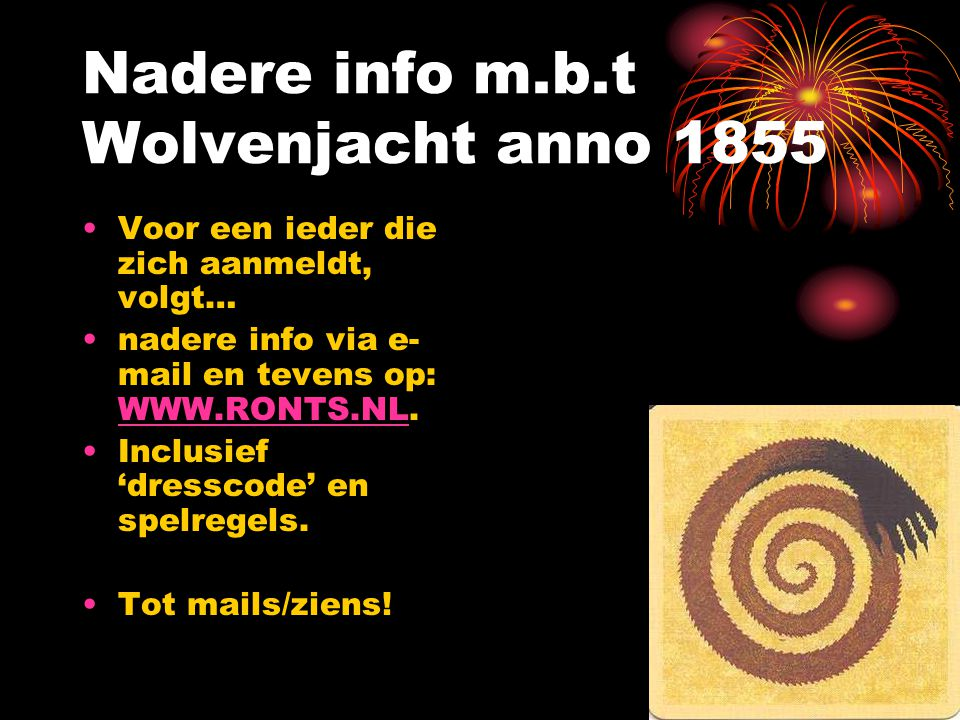 Nadere info m.b.t Wolvenjacht anno 1855