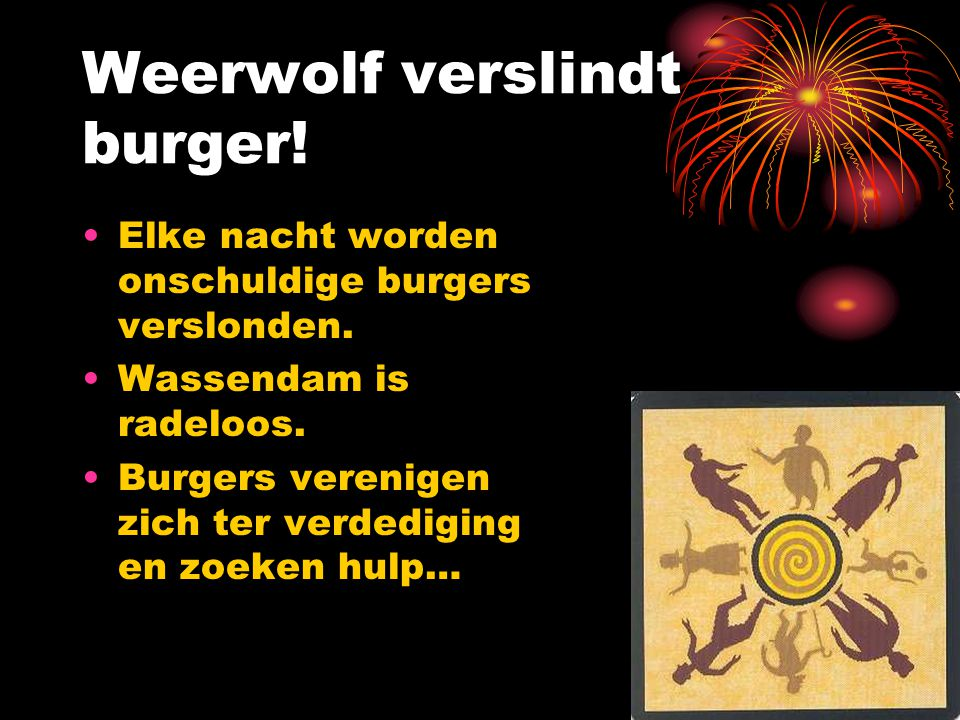 Weerwolf verslindt burger!
