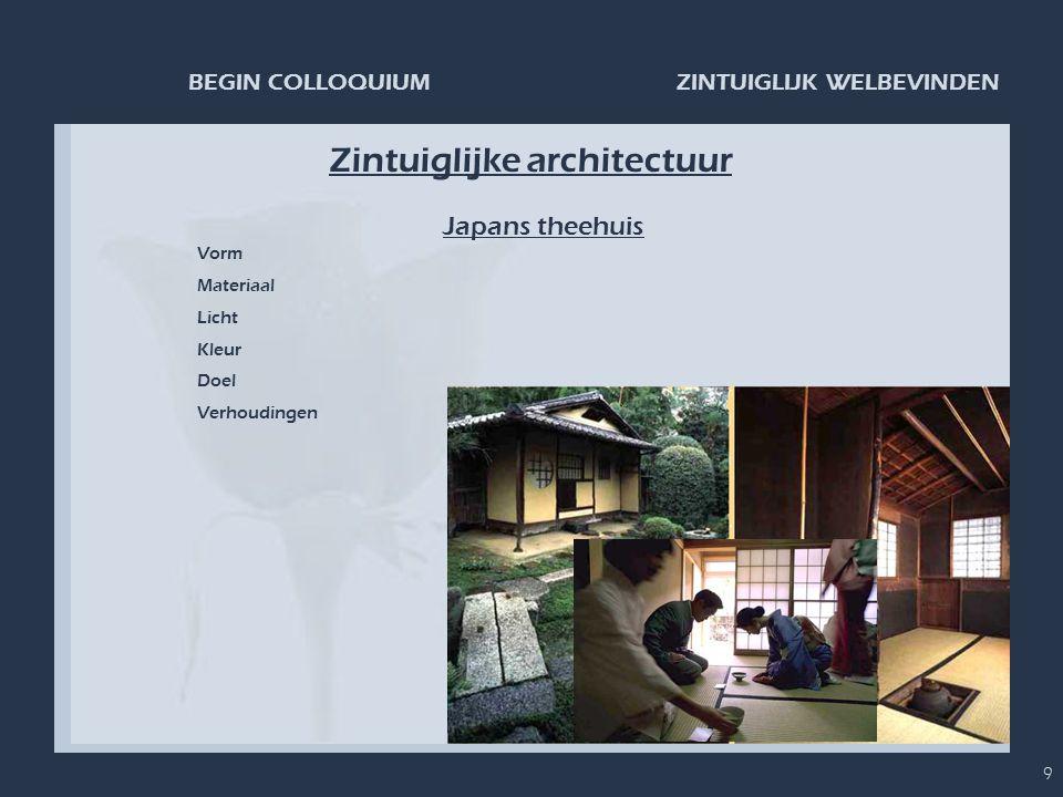Zintuiglijke architectuur