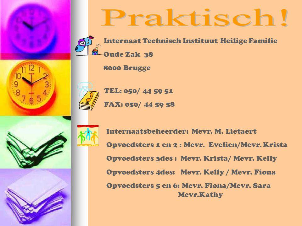 Praktisch! Internaat Technisch Instituut Heilige Familie Oude Zak 38
