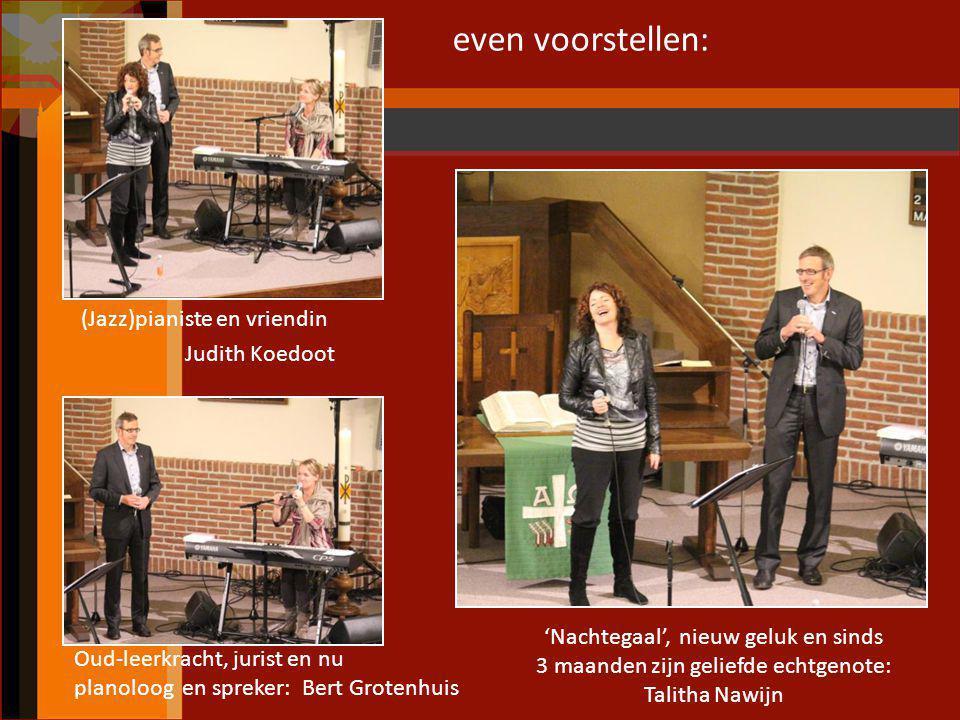 (Jazz)pianiste en vriendin Judith Koedoot