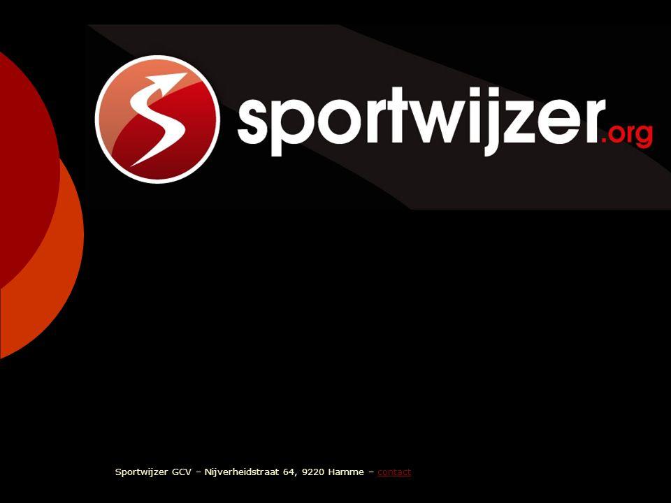 sportwijzer Sportwijzer GCV – Nijverheidstraat 64, 9220 Hamme – contact