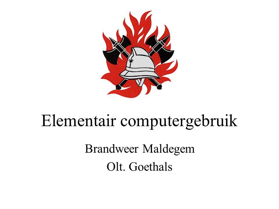 Elementair computergebruik