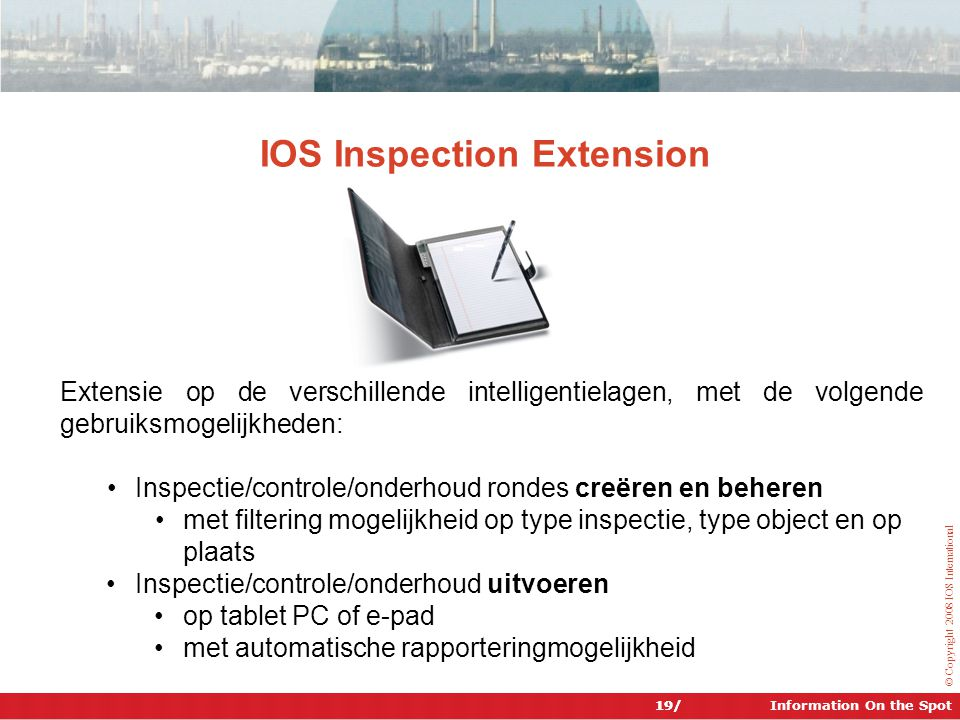 IOS Inspection Extension