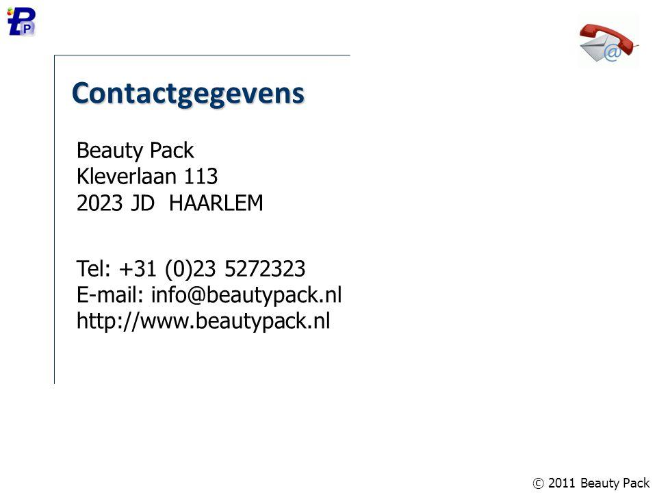 Contactgegevens Beauty Pack Kleverlaan 113 2023 JD HAARLEM