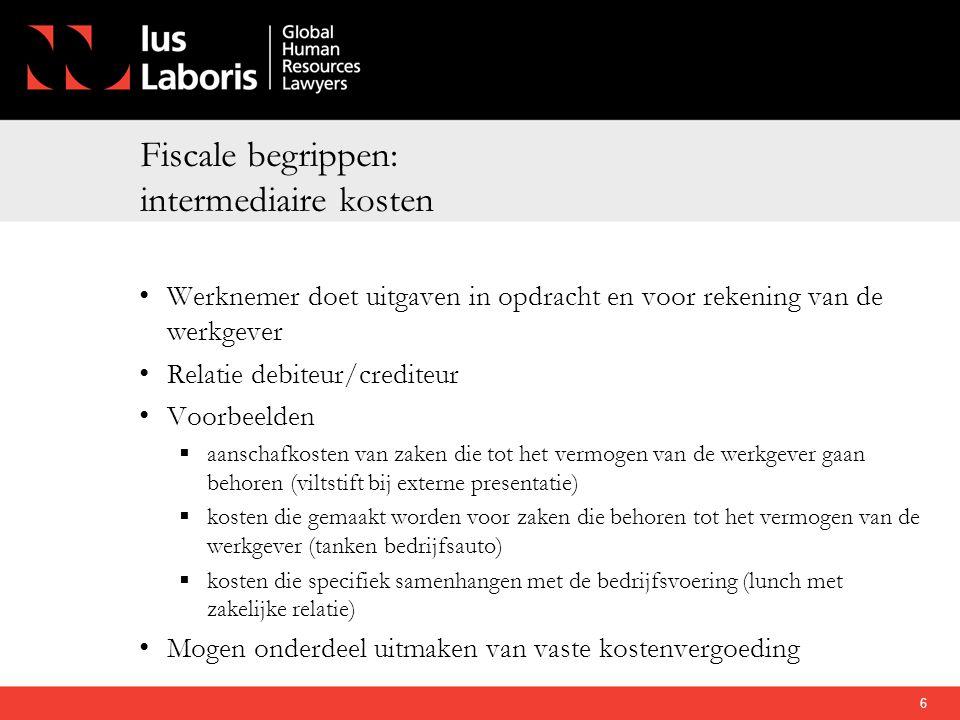 Fiscale begrippen: intermediaire kosten