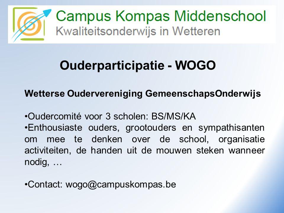 Ouderparticipatie - WOGO