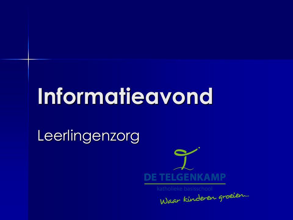 Informatieavond Leerlingenzorg