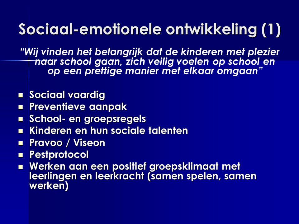 Sociaal-emotionele ontwikkeling (1)