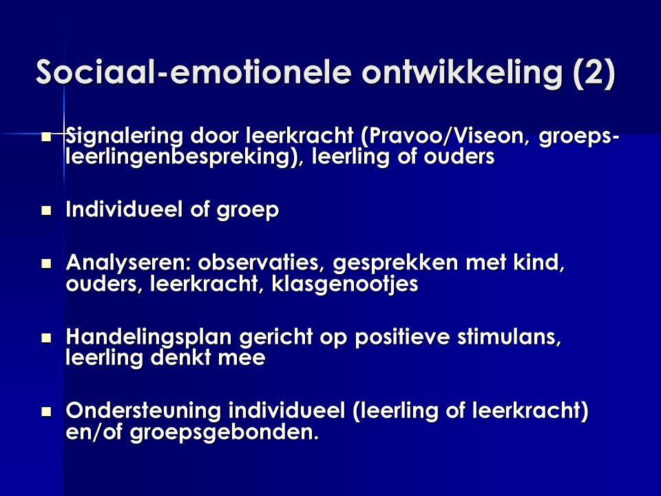 Sociaal-emotionele ontwikkeling (2)