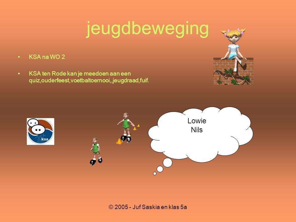 jeugdbeweging Lowie Nils KSA na WO 2
