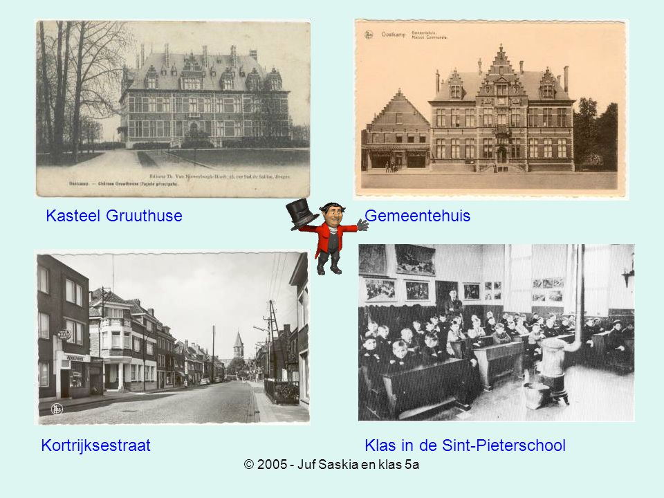 Klas in de Sint-Pieterschool