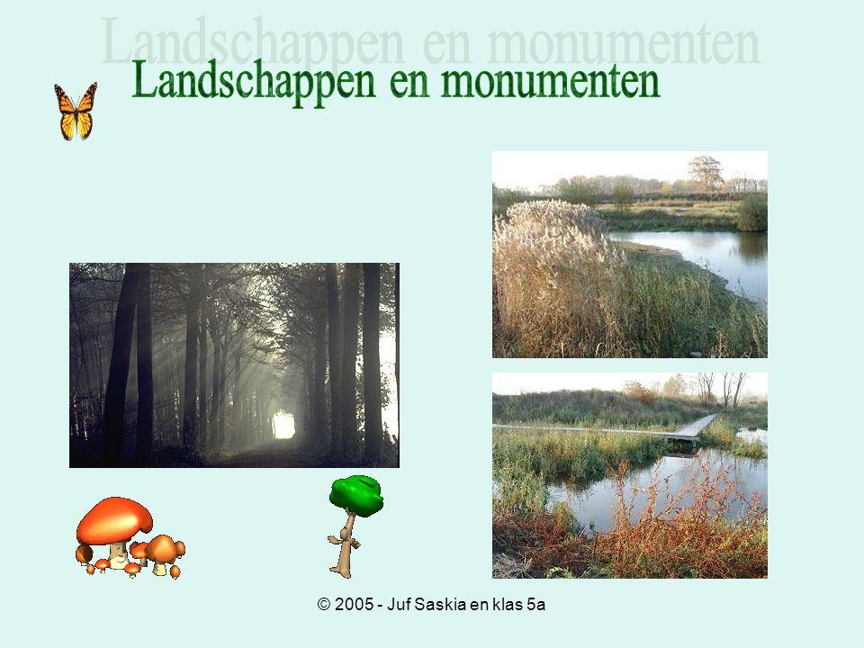 Landschappen en monumenten