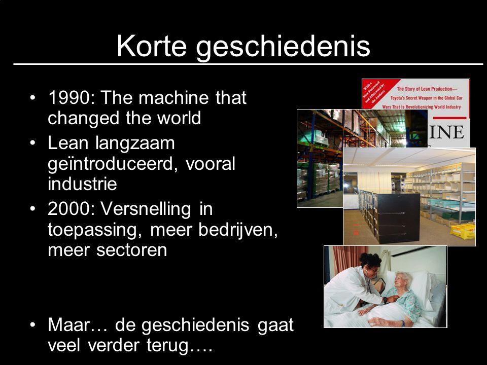 Korte geschiedenis 1990: The machine that changed the world