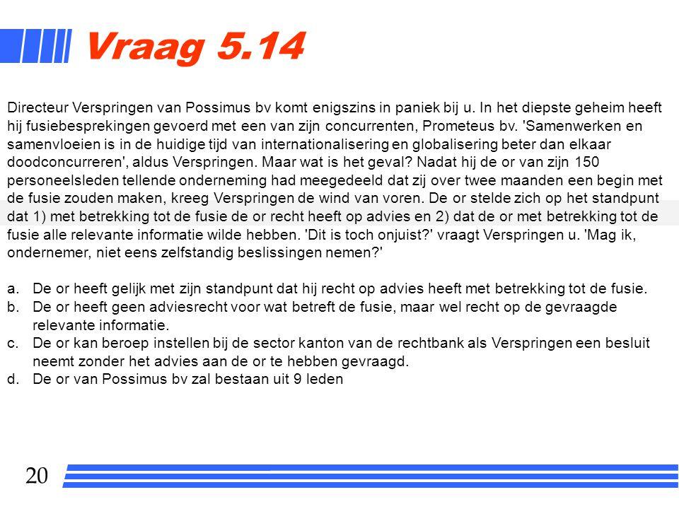 Vraag 5.14