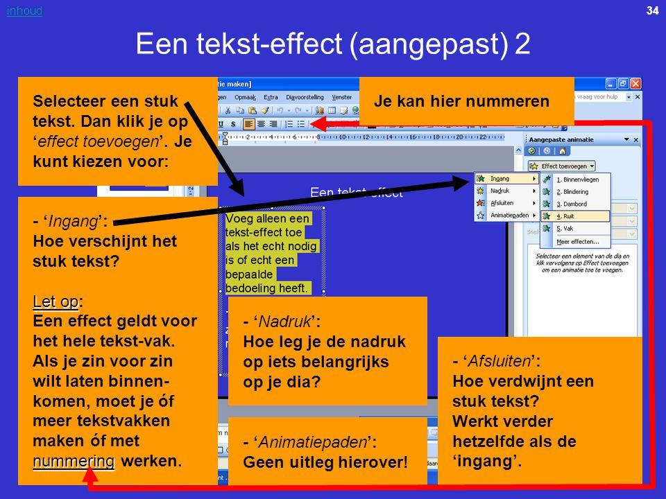 Een tekst-effect (aangepast) 2