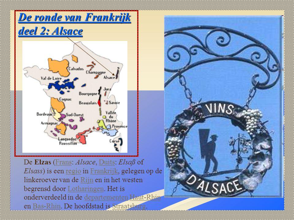 De ronde van Frankrijk deel 2: Alsace