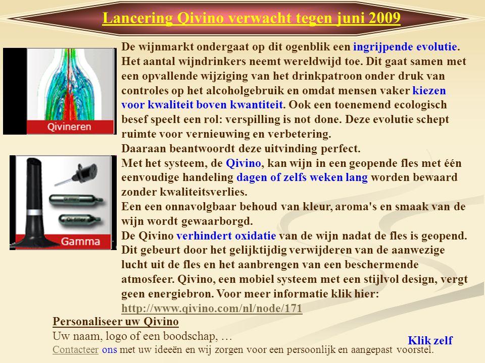 Lancering Qivino verwacht tegen juni 2009