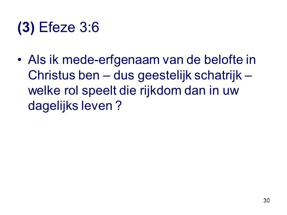 (3) Efeze 3:6