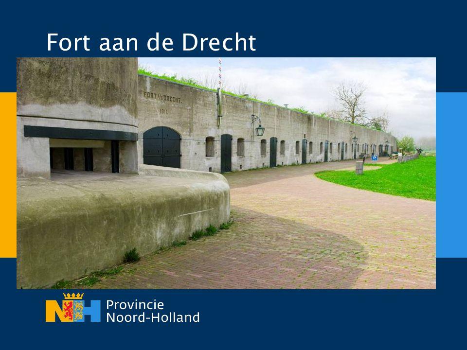 Fort aan de Drecht Ik wil nu enkele voorbeelden noemen van Economische benutting. Fort aan de Drecht gebouwd 1909-1911.