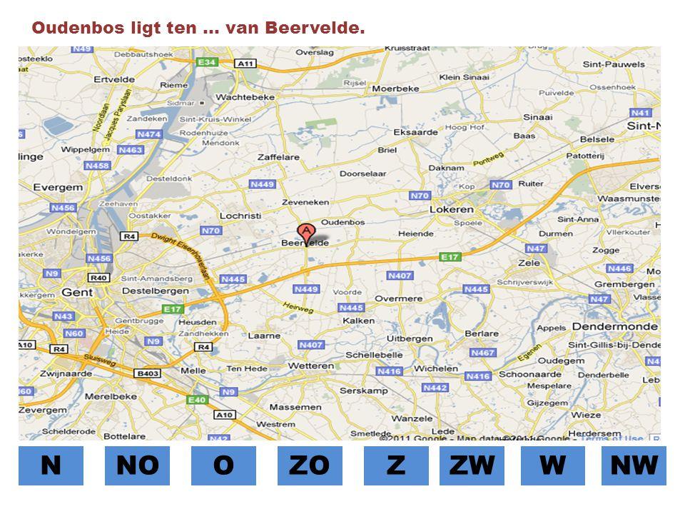 Oudenbos ligt ten … van Beervelde.