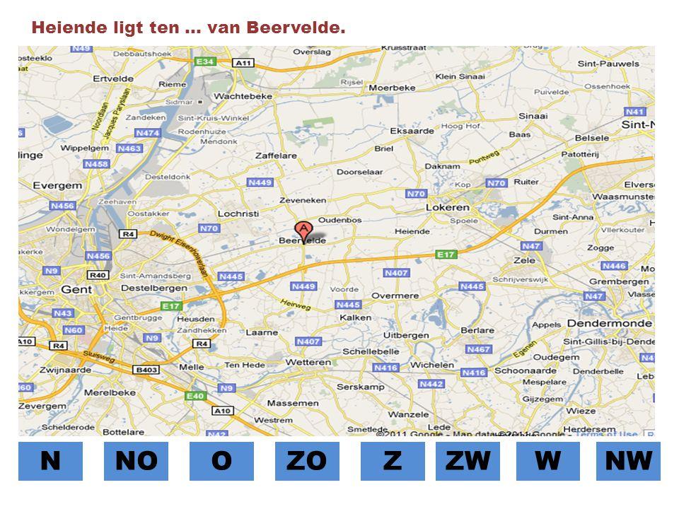 Heiende ligt ten … van Beervelde.