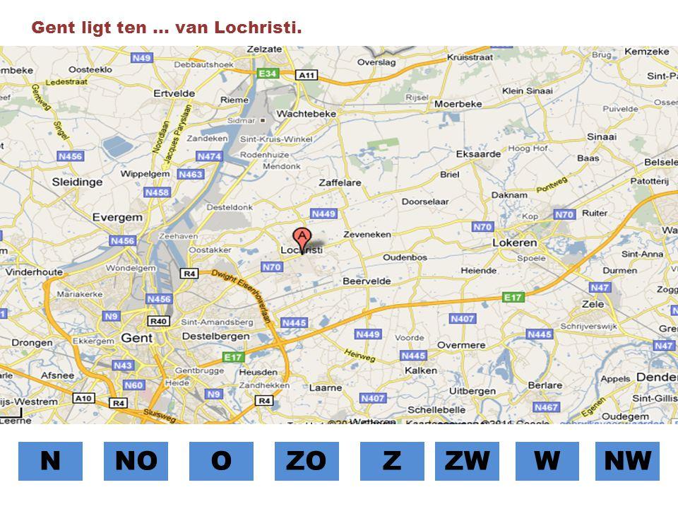 Gent ligt ten … van Lochristi.