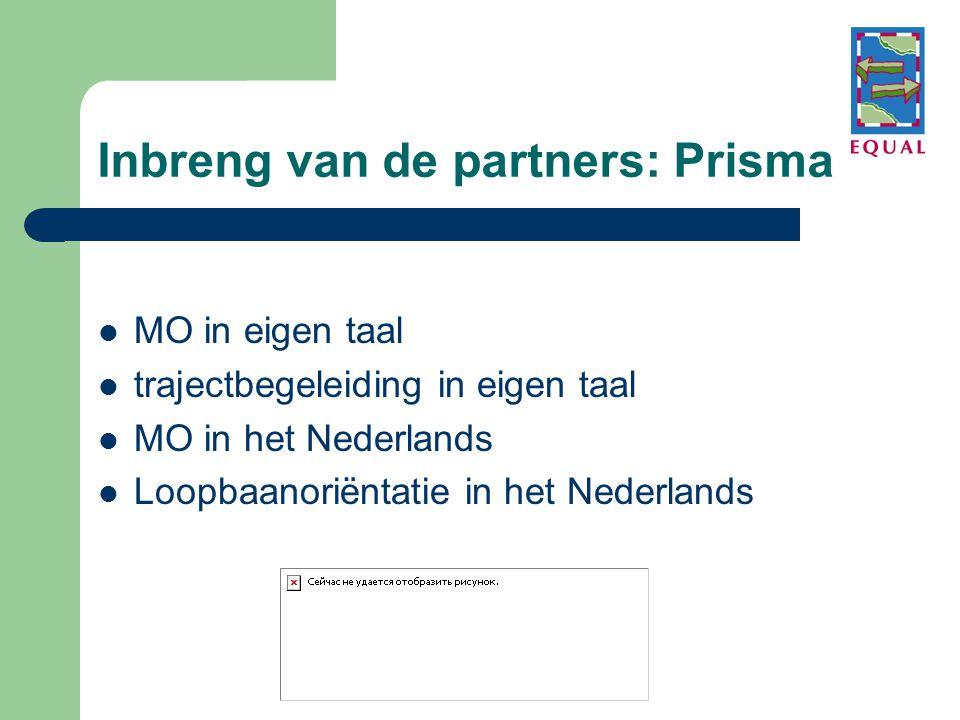 Inbreng van de partners: Prisma
