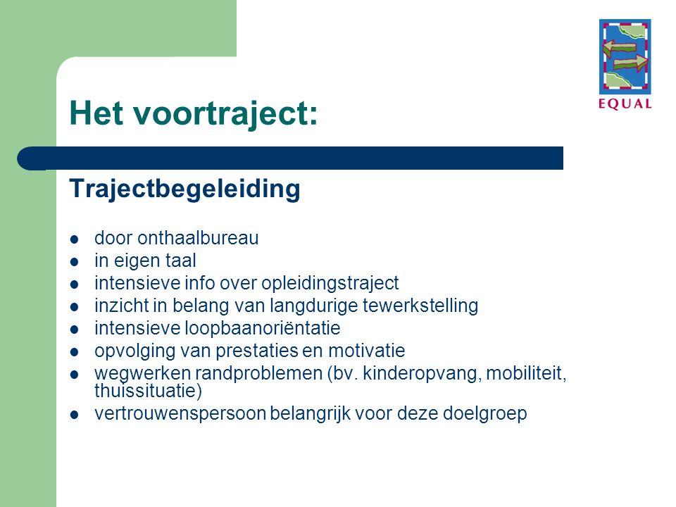 Het voortraject: Trajectbegeleiding door onthaalbureau in eigen taal