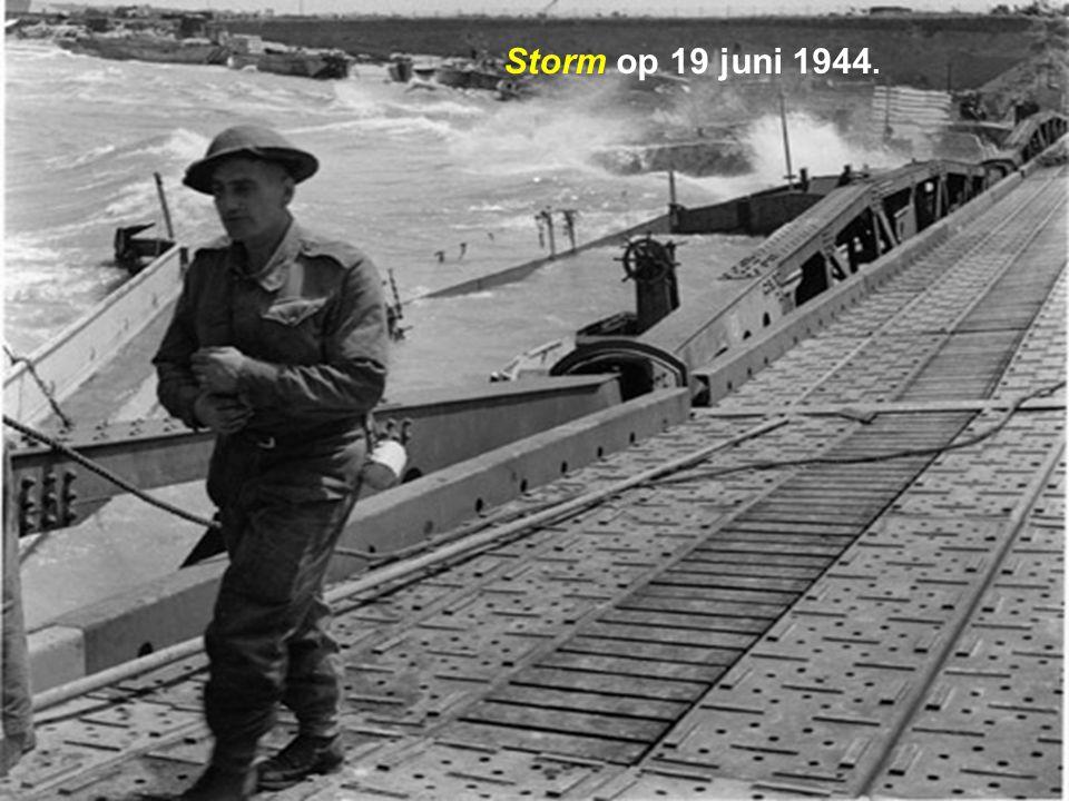 Storm op 19 juni 1944.