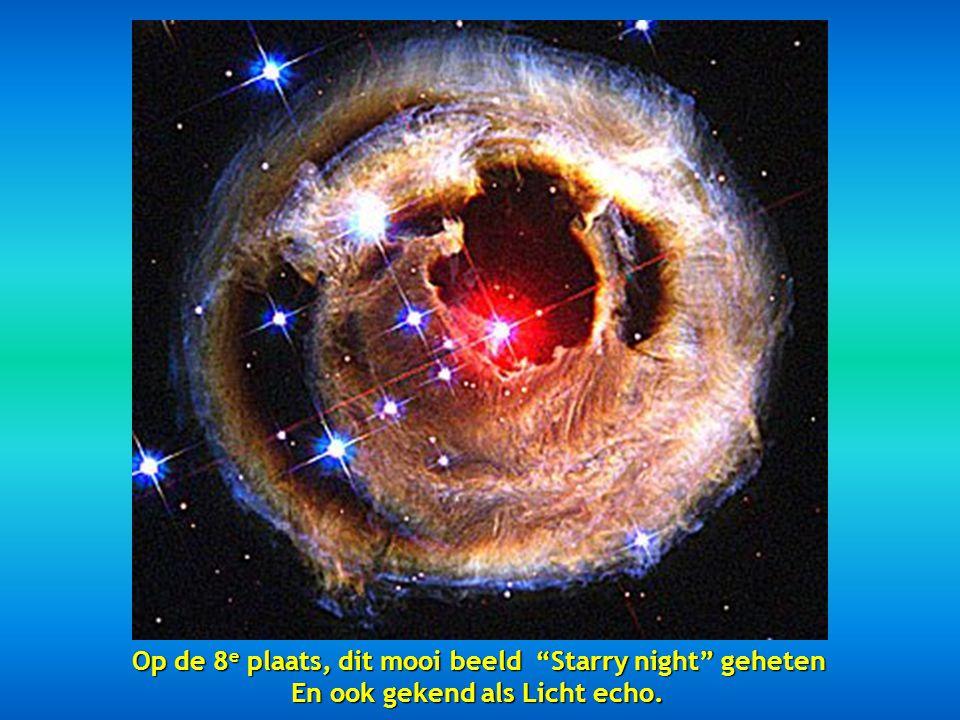 Op de 8e plaats, dit mooi beeld Starry night geheten