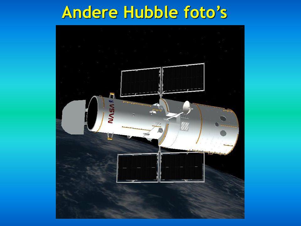 Andere Hubble foto's
