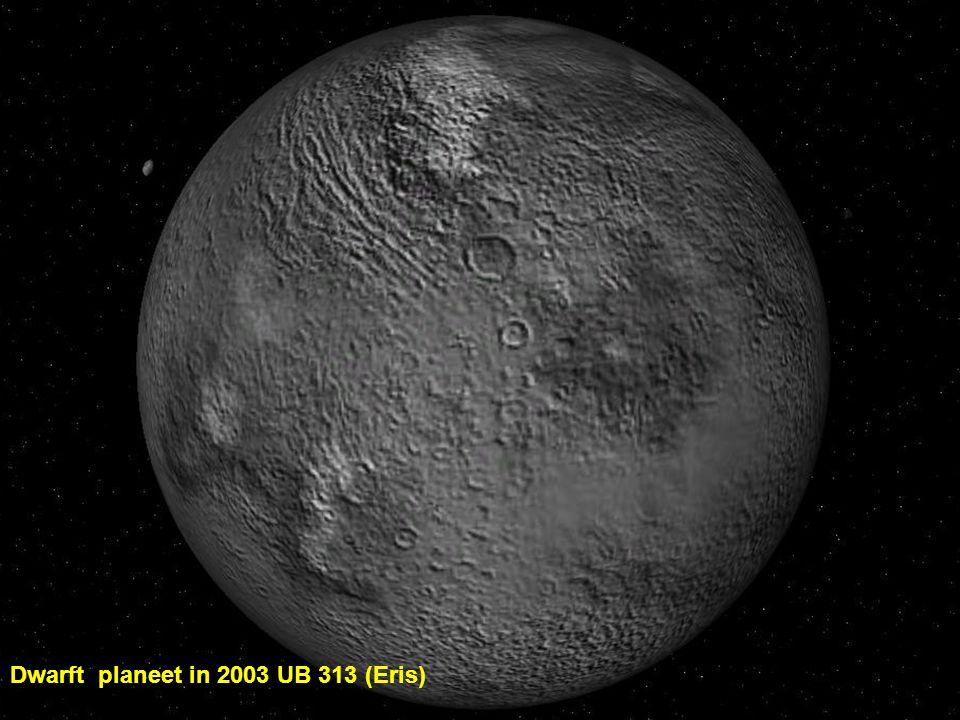 Dwarft planeet in 2003 UB 313 (Eris)