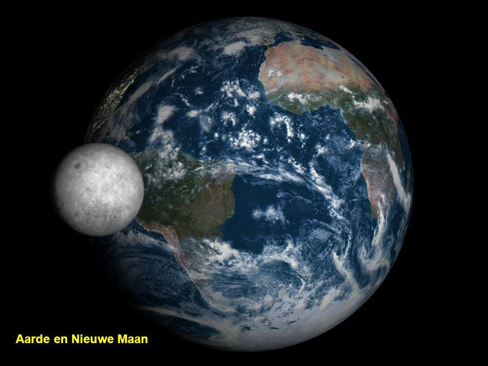 Aarde en Nieuwe Maan
