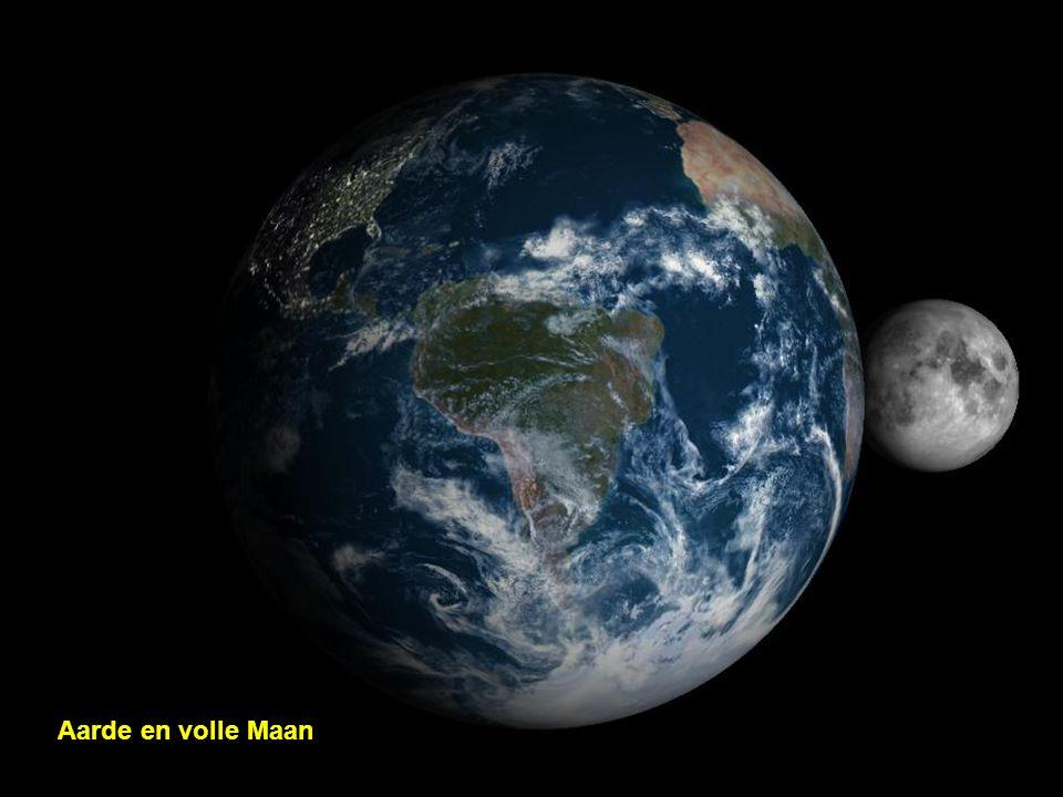 Aarde en volle Maan