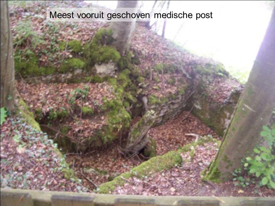 Meest vooruit geschoven medische post