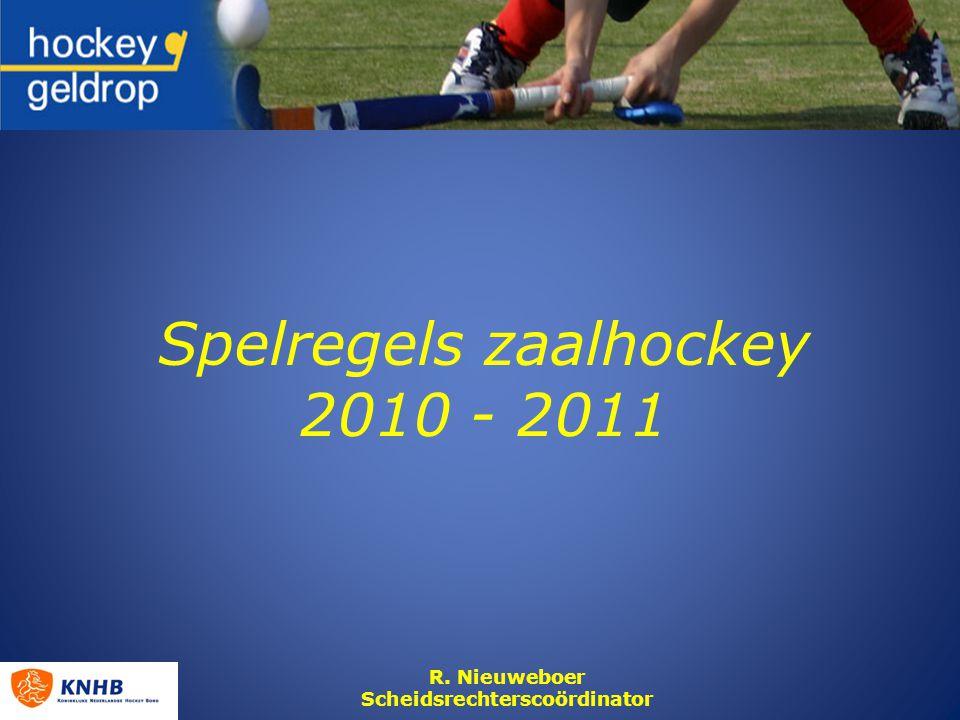 Spelregels zaalhockey 2010 - 2011
