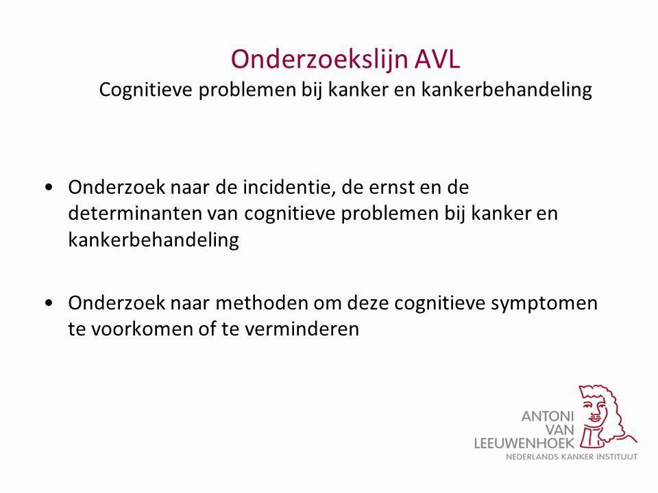 Onderzoekslijn AVL Cognitieve problemen bij kanker en kankerbehandeling